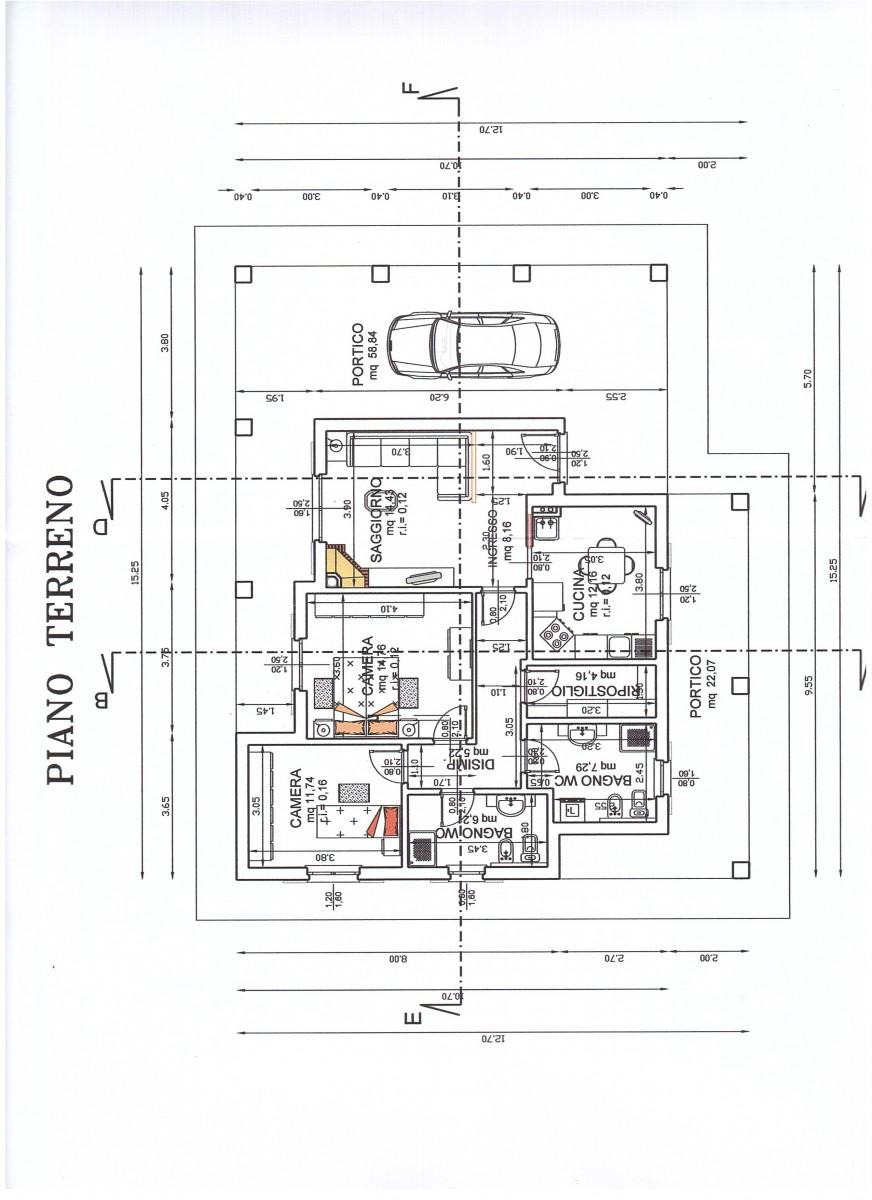 Progetto casa 120 mq un piano gh52 regardsdefemmes for Casa moderna su un piano