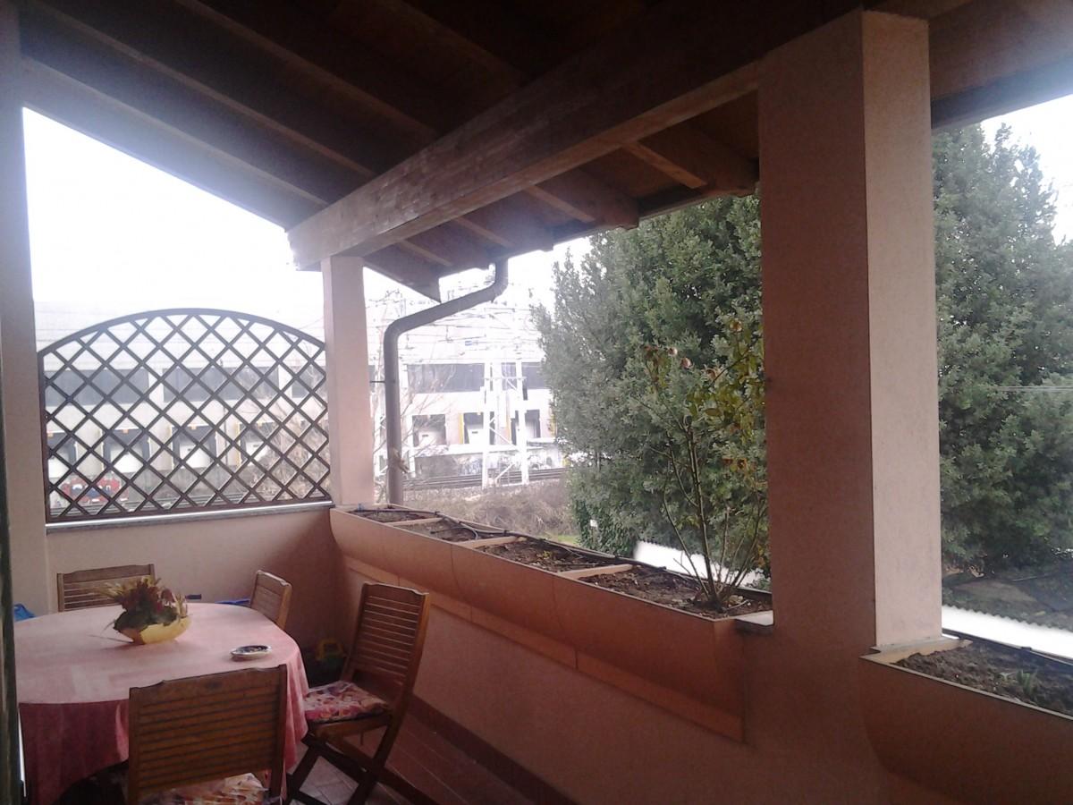 Coprire Terrazzo Con Veranda chiusura terrazzo con vetrate a arcore (monza e brianza