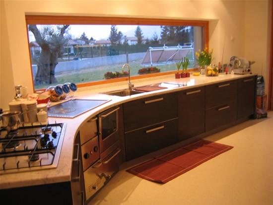 Sopraelevazione con piano casa a roma - Cucina con finestra ...