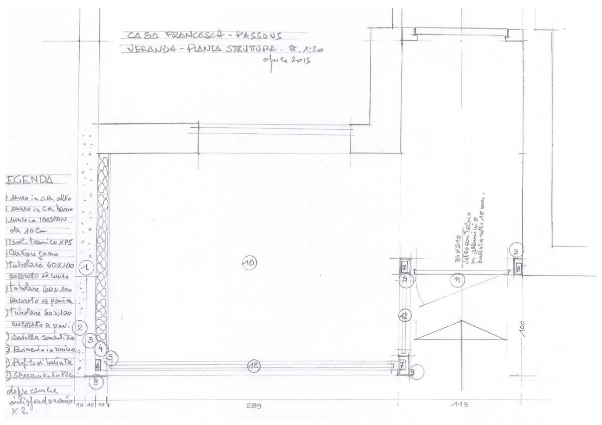 Costruire una tettoia con copertura a udine for Arredamenti dwg