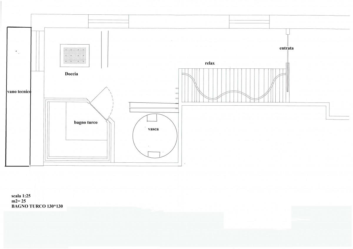 Preventivo installazione spa hammam sauna piscina sauna - Dimensioni bagno turco ...