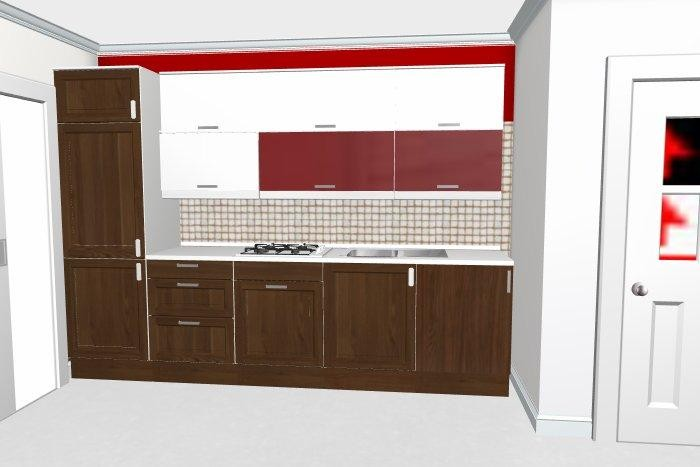 Preventivo cucina interni online - Cucina 3 metri ...