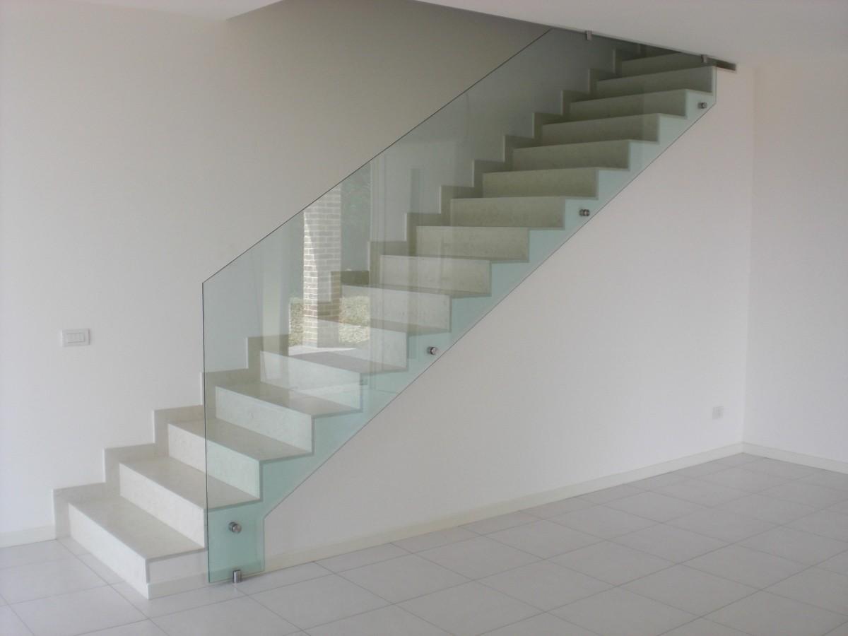 Scale in muratura interne ringhiere in ferro per scale - Ringhiere in vetro per scale interne prezzi ...