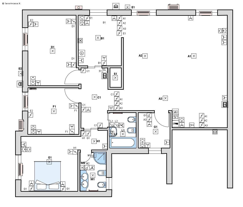 Preventivo impianto elettrico interni online pagina 5 - Impianto elettrico di casa ...