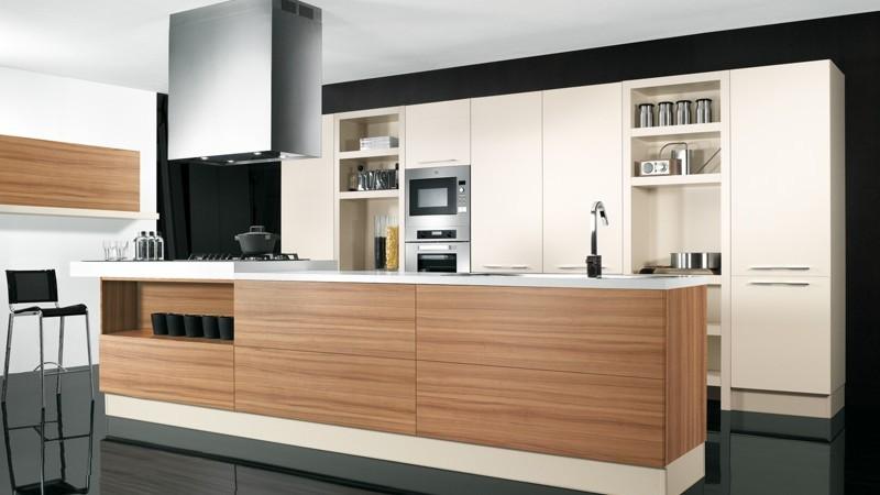 Fotografia Immagine: Composizione Cucina Lineare O Penisola