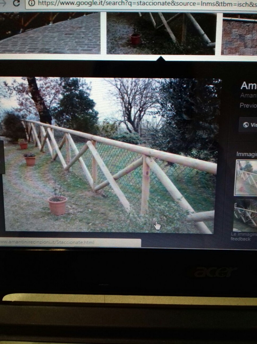 Preventivo recinzione a puglia online esterni - Staccionata giardino ...
