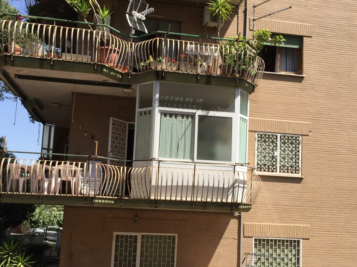 Disegno veranda berdachung for Portico dello schermo prefabbricato