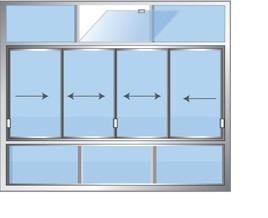 Fotografia-immagine: Veranda frontale balcone cm 400 x h 320 cm