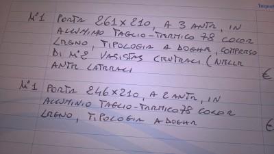 Preventivo vetreria infissi e serramenti online - Costo infissi vetrocamera ...
